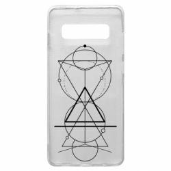 Чохол для Samsung S10+ Сomposition of geometric shapes