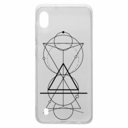 Чохол для Samsung A10 Сomposition of geometric shapes