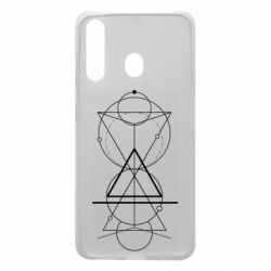 Чохол для Samsung A60 Сomposition of geometric shapes