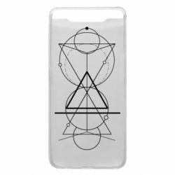 Чохол для Samsung A80 Сomposition of geometric shapes