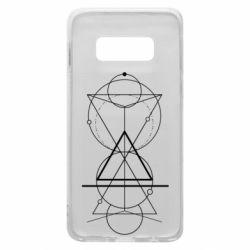 Чохол для Samsung S10e Сomposition of geometric shapes