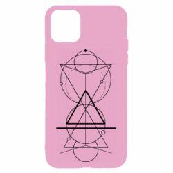 Чохол для iPhone 11 Сomposition of geometric shapes