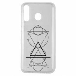 Чохол для Samsung M30 Сomposition of geometric shapes