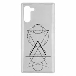 Чохол для Samsung Note 10 Сomposition of geometric shapes