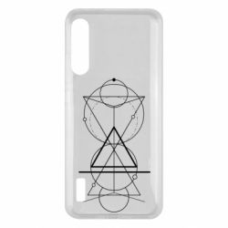 Чохол для Xiaomi Mi A3 Сomposition of geometric shapes