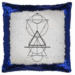 Подушка-хамелеон Сomposition of geometric shapes
