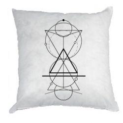 Подушка Сomposition of geometric shapes