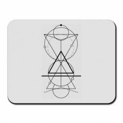 Килимок для миші Сomposition of geometric shapes