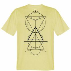Чоловіча футболка Сomposition of geometric shapes