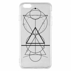 Чохол для iPhone 6 Plus/6S Plus Сomposition of geometric shapes