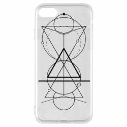 Чохол для iPhone 7 Сomposition of geometric shapes