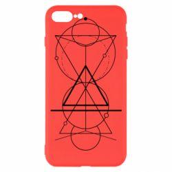 Чохол для iPhone 7 Plus Сomposition of geometric shapes