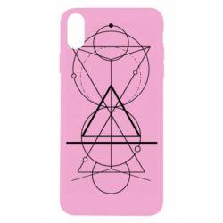 Чохол для iPhone X/Xs Сomposition of geometric shapes