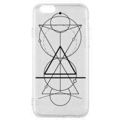 Чохол для iPhone 6/6S Сomposition of geometric shapes