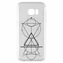Чохол для Samsung S7 EDGE Сomposition of geometric shapes