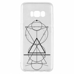 Чохол для Samsung S8 Сomposition of geometric shapes