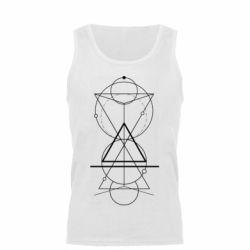 Майка чоловіча Сomposition of geometric shapes