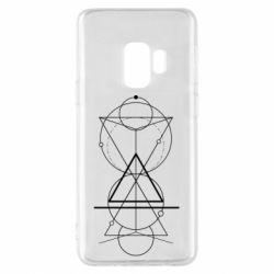 Чохол для Samsung S9 Сomposition of geometric shapes