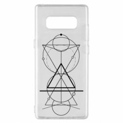 Чохол для Samsung Note 8 Сomposition of geometric shapes