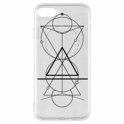 Чохол для iPhone 8 Сomposition of geometric shapes