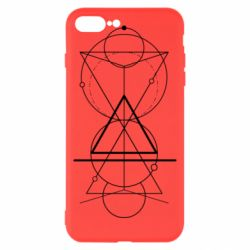Чохол для iPhone 8 Plus Сomposition of geometric shapes