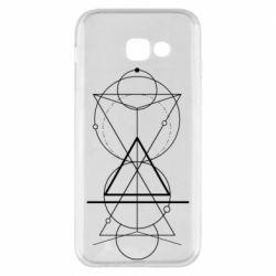 Чохол для Samsung A5 2017 Сomposition of geometric shapes