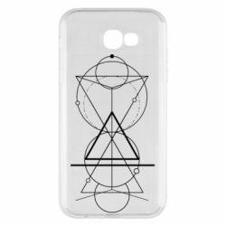 Чохол для Samsung A7 2017 Сomposition of geometric shapes