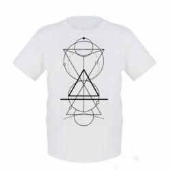 Дитяча футболка Сomposition of geometric shapes