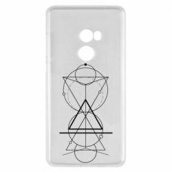 Чохол для Xiaomi Mi Mix 2 Сomposition of geometric shapes