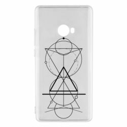 Чохол для Xiaomi Mi Note 2 Сomposition of geometric shapes