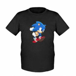 Детская футболка Sonic 3d - FatLine
