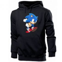 Мужская толстовка Sonic 3d - FatLine