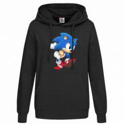 Женская толстовка Sonic 3d - FatLine