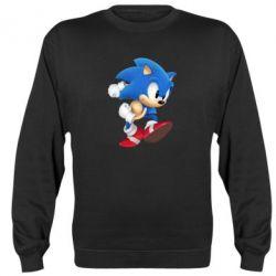 Реглан (свитшот) Sonic 3d - FatLine