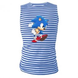 Майка-тельняшка Sonic 3d - FatLine