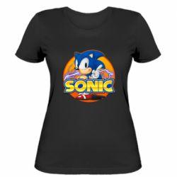 Жіноча футболка Sonic lightning