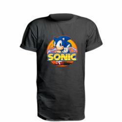 Подовжена футболка Sonic lightning