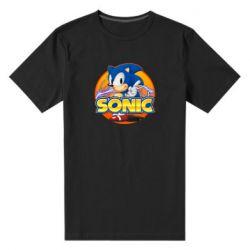 Чоловіча стрейчева футболка Sonic lightning