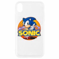 Чохол для iPhone XR Sonic lightning