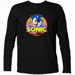 Футболка з довгим рукавом Sonic lightning