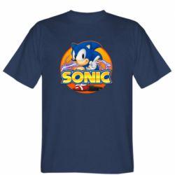 Чоловіча футболка Sonic lightning