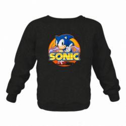 Дитячий реглан (світшот) Sonic lightning