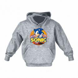 Дитяча толстовка на флісі Sonic lightning