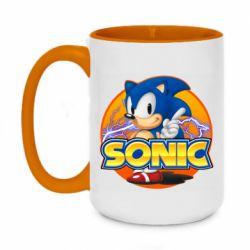 Кружка двоколірна 420ml Sonic lightning