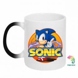 Кружка-хамелеон Sonic lightning