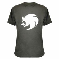 Камуфляжная футболка Sonic logo