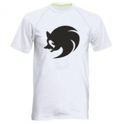 Мужская спортивная футболка Sonic logo