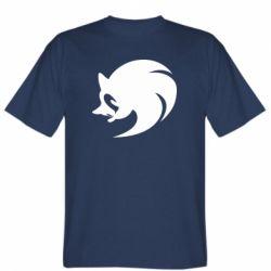 Мужская футболка Sonic logo