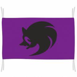 Флаг Sonic logo