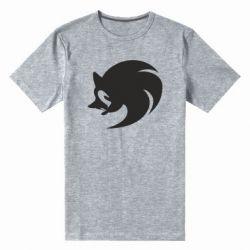 Мужская стрейчевая футболка Sonic logo